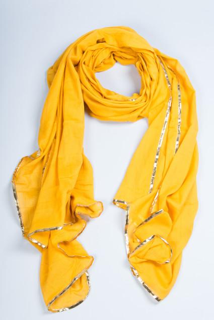 scarf mustard